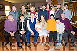 Parents Neil O' Loughlin and Edel McCarthy, Castleisland celebrate the christening of baby Dillon at St Stephen and St John's Church, Castleisland by Fr. Sean Egan on Thursday and after with family and friends at O'Riada's