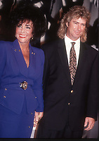 Elizabeth Taylor hubby Larry Fortensky 1991<br /> Photo By John Barrett/PHOTOlink.