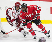 Adam Baughman (Harvard - 20), Kenny Gillespie (RPI - 8) - The Harvard University Crimson defeated the visiting Rensselaer Polytechnic Institute Engineers 5-2 in game 1 of their ECAC quarterfinal series on Friday, March 11, 2016, at Bright-Landry Hockey Center in Boston, Massachusetts.