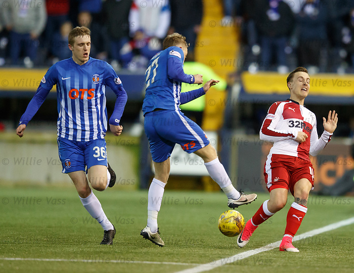 Barrie McKay and Luke Hendrie