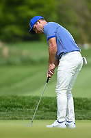 Paul Casey (GBR) watches his putt on 11 during round 4 of the 2019 PGA Championship, Bethpage Black Golf Course, New York, New York,  USA. 5/19/2019.<br /> Picture: Golffile | Ken Murray<br /> <br /> <br /> All photo usage must carry mandatory copyright credit (© Golffile | Ken Murray)