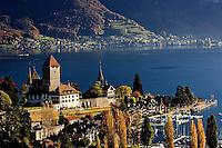 Swiss village, Brienzwer Sea, Interlaken, Switzerland