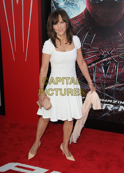 """Sally Field.Los Angeles Premiere Of """"The Amazing Spider-Man"""" Held The at Regency Village Theatre, Westwood, California, USA..June 28th, 2012.full length white dress .CAP/ADM/FS.©Faye Sadou/AdMedia/Capital Pictures."""