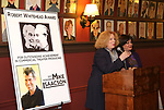 Victoria Bailey and Charlotte St. Martin  attends the The Robert Whitehead Award presented to Mike Isaacson at Sardi's on May 10, 2017 in New York City.