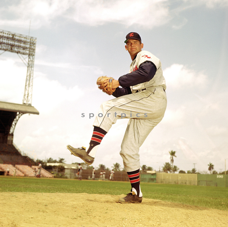 Kansas City Athletics Don Larsen (18) portrait from the 1960 season. Don Larsen played 14 years with 7 different teams and was a 1956 World Series MVP.(SportPics)
