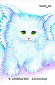 Marie, REALISTIC ANIMALS, REALISTISCHE TIERE, ANIMALES REALISTICOS, paintings+++++AngelKitty,USJO04,#A# ,Joan Marie cat