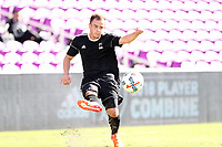 Orlando, Florida - Monday January 15, 2018: Tim Kubel. Match Day 2 of the 2018 adidas MLS Player Combine was held Orlando City Stadium.