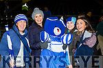 Templenoe supporters Paula O'sullivan Bridín Clifford, Oonagh Pierce and Alma Gomez celebrate on Sunday