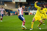 Atletico de Madrid´s Arda Turan during 2014-15 La Liga match between Atletico de Madrid and Villarreal at Vicente Calderon stadium in Madrid, Spain. December 14, 2014. (ALTERPHOTOS/Luis Fernandez) /NortePhoto
