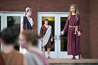 Classical Week 2016 Phaedra (Roman tragedy by Seneca) performance at the Zacharias Village Courtyard, presented by The Shakouls Honors College. <br />