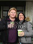 Donna Nolan and Rachel Slevin at the Laytown and Bettystown Tennis Club Promotion day. Photo:Colin Bell/pressphotos.ie