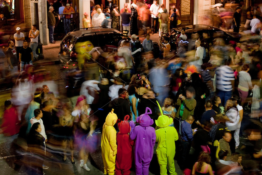 Halloween on 6th Street is full of ghost and goblins and everything else in between in Austin.