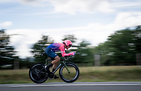 Alberto Bettiol (ITA/EF Education First)<br /> <br /> Stage 4 (ITT): Roanne to Roanne (26.1km)<br /> 71st Critérium du Dauphiné 2019 (2.UWT)<br /> <br /> ©kramon