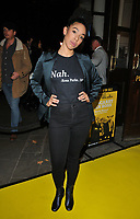 Pearl Mackie at the &quot;Glengarry Glen Ross&quot; press night, Playhouse Theatre, Northumberland Avenue, London, England, UK, on Thursday 09 November 2017.<br /> CAP/CAN<br /> &copy;CAN/Capital Pictures