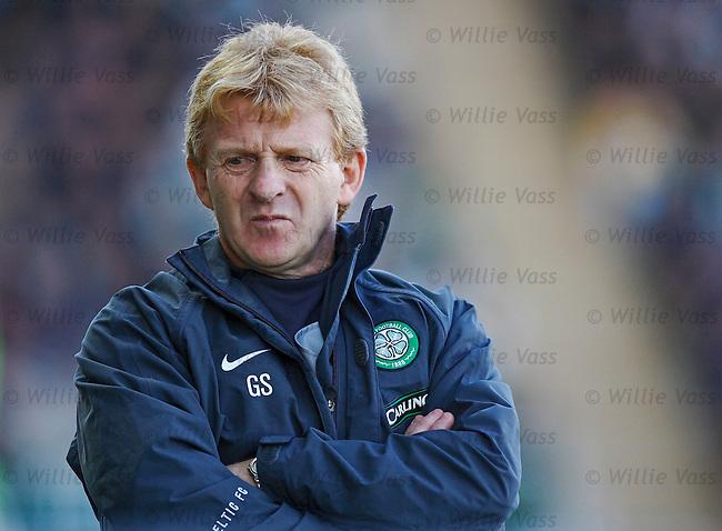 Gordon Strachan, Celtic.stock season 2005-2006.pic willie vass