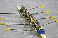 Crew: 149   Hampton School Boat Club   School Second J16 8<br /> <br /> Schools' Head of the River 2018<br /> <br /> To purchase this photo, or to see pricing information for Prints and Downloads, click the blue 'Add to Cart' button at the top-right of the page.
