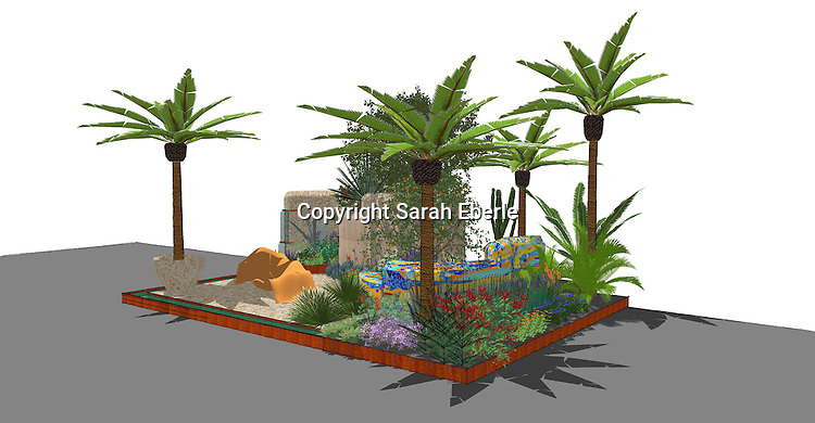 Viking Cruises Garden of Inspiration by Sarah Eberle