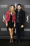 Emiliano Suarez and Carola Baleztena attend L'Homme from Yves Saint Laurent event in Madrid, Spain. February 29, 2016. (ALTERPHOTOS/Victor Blanco)