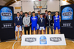 Action from the 2019 Schick AA Boys' Secondary Schools Basketball National Championship MVPs at the Central Energy Trust Arena in Palmerston North, New Zealand on Saturday, 5 October 2019. Photo: Dave Lintott / lintottphoto.co.nz