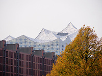 Elbphilharmonie und Speicherstadt, Hamburg, Deutschland, Europa, UNESCO-Weltkulturerbe<br /> Elbphilharmonie and Speicherstadt, Hamburg, Germany, Europe, UNESCO world heritage