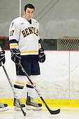 Jared Rickord (Bentley - 27) - The Bentley University Falcons defeated the visiting Sacred Heart University Pioneers 6-2 in their home opener on November 3, 2010, at John A. Ryan Skating Center in Watertown, Massachusetts.
