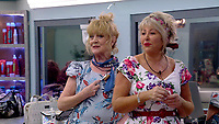 Amanda Barrie, Maggie Oliver  <br /> Celebrity Big Brother 2018 - Day 10<br /> *Editorial Use Only*<br /> CAP/KFS<br /> Image supplied by Capital Pictures