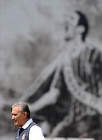 SÃO PAULO,SP,02 MARCO 2013 - TREINO CORINTHIANS.  Tite  titular durante treino do Corinthians no CT Joaquim Grava, no Parque Ecologico do Tiete, zona leste de Sao Paulo, na manha deste sabado. O time se prepara para o jogo  contra o Santos  em Sao Paulo valido pela primeira 10 rodada do paulistao 2013. FOTO ALAN MORICI - BRAZIL FOTO PRESS
