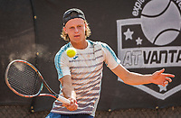 Rotterdam, Netherlands, August 22, 2017, Rotterdam Open, Tim van der Horst (NED)<br /> Photo: Tennisimages/Henk Koster