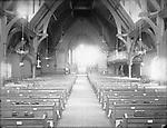 Frederick Stone negative. Trinity Church interior 1892.