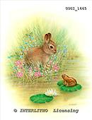 GIORDANO, EASTER, OSTERN, PASCUA, paintings+++++,USGI1665,#E# rabbits