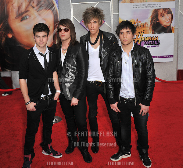 "Push Play at the world premiere of ""Hannah Montana The Movie"" at the El Capitan Theatre, Hollywood..April 2, 2009  Los Angeles, CA.Picture: Paul Smith / Featureflash"