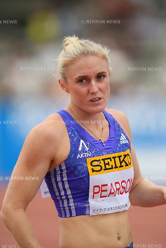 Sally Peason (AUS), MAY 10, 2015 - Athletics : IAAF World Challenge Seiko Golden Grand Prix in Kawasaki, Women's 100mH at Todoroki Stadium, Kanagawa, Japan. (Photo by YUTAKA/AFLO SPORT)