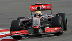 05 Apr 2009, Kuala Lumpur, Malaysia --- Vodafone McLaren Mercedes F1 Team driver Lewis Hamilton of Great Britain steers his car during the 2009 Fia Formula One Malasyan Grand Prix at the Sepang circuit near Kuala Lumpur. Photo by Victor Fraile --- Image by © Victor Fraile / The Power of Sport Images