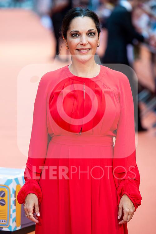 Actress Cristina Plazas attends to orange carpet of 'Estoy Vivo' during FestVal in Vitoria, Spain. September 04, 2018. (ALTERPHOTOS/Borja B.Hojas)