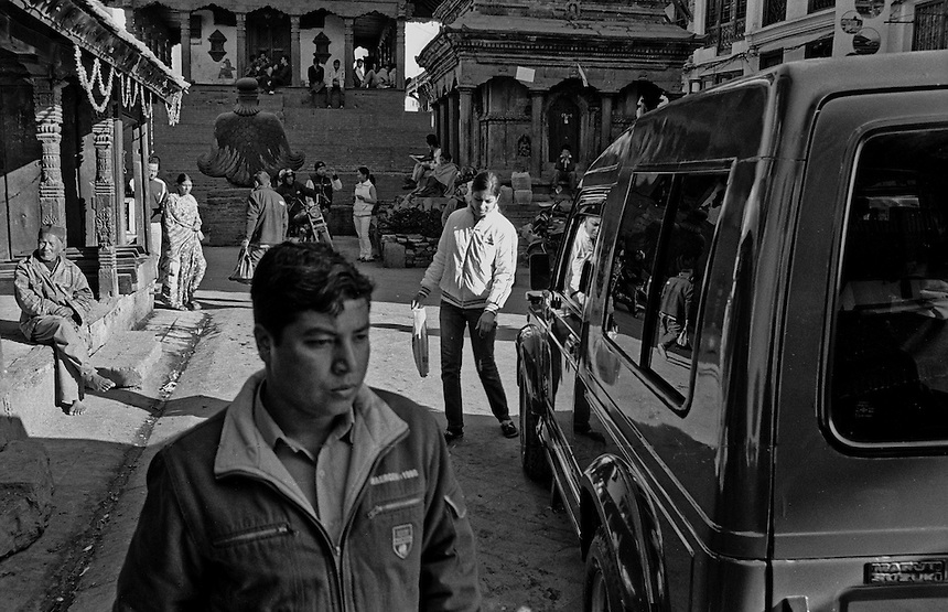 Kathmandu, Nepal, 2008. Photo: Ed Giles.