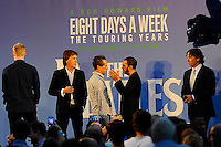 LONDON, ENGLAND - SEPTEMBER 15: Sir Paul McCartney, Brian Grazer, Ringo Starr and John Bishop attending the 'The Beatles: Eight Days A Week - The Touring Years'  World Premiere at Odeon Cinema, Leicester Square on September 15, 2016 in London, England.<br /> CAP/MAR<br /> &copy;MAR/Capital Pictures /MediaPunch ***NORTH AND SOUTH AMERICAS ONLY***