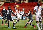 Nicky Clark tries an overhead kick