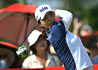 SINGAPORE - MARCH 03: Jin Young Ko of South Korea on the 1st tee during the final round of the HSBC Women's World Championship 2019 at Sentosa Golf Club - Tanjong Course, Singapore on March 03, 2019.<br /> .<br /> .<br /> .<br /> (Photo by: Naratip Golf Srisupab/SEALs Sports Images)<br /> .<br /> Any image use must include a mandatory credit line adjacent to the content which should read: Naratip Golf Srisupab/SEALs Sports Images