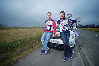 Kuurne-Brussel-Kuurne 2012<br /> Lotto-Belisol soigneurs Raoul Saren &amp; Marc Van Gyseghem
