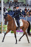 ITA-Evelina Bertoli (LEITRIM ORIENT EXPRESS) INTERIM-24TH: FIRST DAY OF DRESSAGE: EVENTING: The Alltech FEI World Equestrian Games 2014 In Normandy - France (Thursday 28 August) CREDIT: Libby Law COPYRIGHT: LIBBY LAW PHOTOGRAPHY - NZL