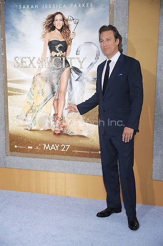 John Corbett at the film premiere of 'Sex and the City 2' at Radio City Music Hall in New York City. May 24, 2010.Credit: Dennis Van Tine/MediaPunch