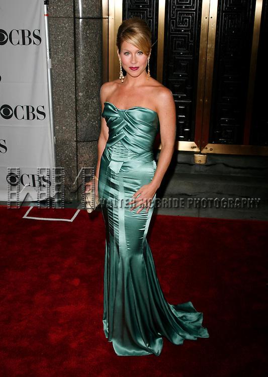 Christina Applegate.arriving to the 61st Annual Tony Awards held at Radio City Music Hall New York City on June 10, 2007. .© Alice Erardy / Starlitepics