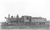 Fireman's-side view of D&amp;RGW #360 in Gunnison, CO.<br /> D&amp;RGW  Gunnison, CO  Taken by Maxwell, John W. - 9/19/1948