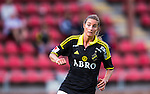 Solna 2014-08-16 Fotboll Damallsvenskan AIK - Kopparbergs/G&ouml;teborg FC :  <br /> AIK:s Madeleine Tegstr&ouml;m <br /> (Foto: Kenta J&ouml;nsson) Nyckelord:  AIK Gnaget Kopparbergs G&ouml;teborg Kopparbergs/G&ouml;teborg portr&auml;tt portrait