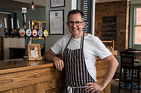 Mark Anderson of the Ruddington Arms, Ruddington, Nottingham