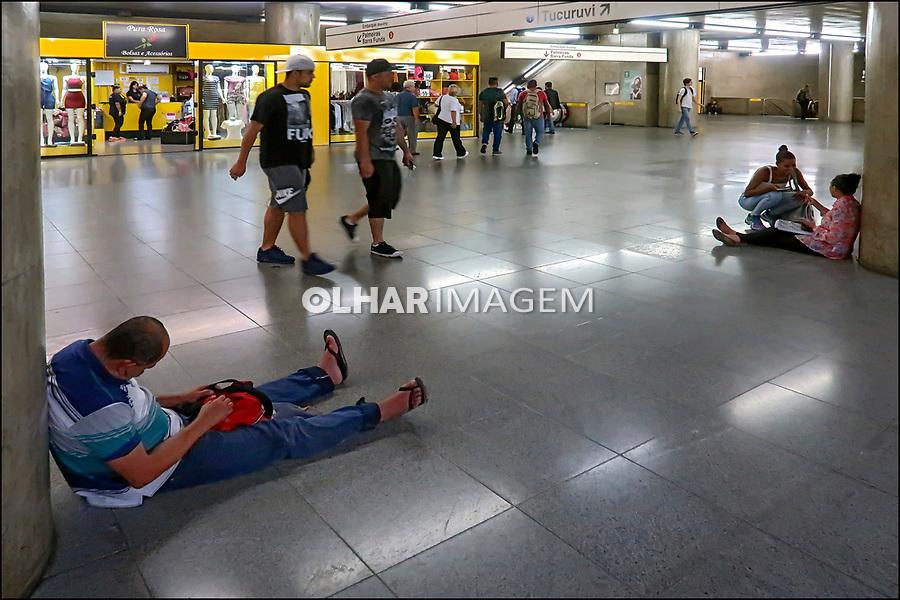 Estaçao do Metro, Praça da Se, Sao Paulo. 2018. Foto © Juca Martins.