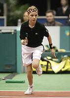23-2-06, Netherlands, tennis, Rotterdam, ABNAMROWTT,Ballgirl