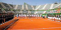 6-3-09,Argentina, Buenos Aires, Daviscup  Argentina-Netherlands, Presentatie van de teams