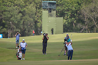 Jimmy Walker (USA) lips out his putt on 18 during round 3 of the AT&amp;T Byron Nelson, Trinity Forest Golf Club, at Dallas, Texas, USA. 5/19/2018.<br /> Picture: Golffile | Ken Murray<br /> <br /> <br /> All photo usage must carry mandatory copyright credit (&copy; Golffile | Ken Murray)