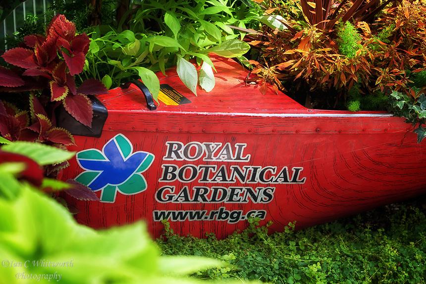 Royal Botanical Gardens display.